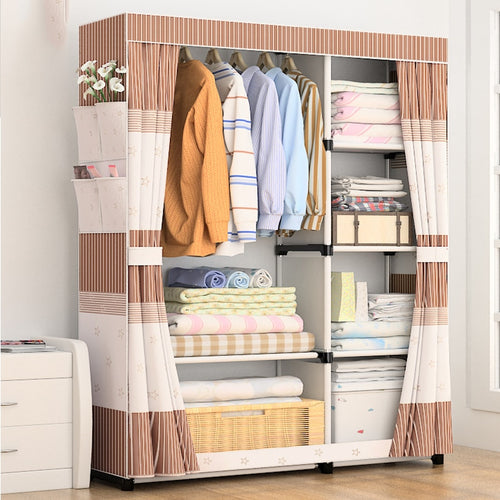 Portable Storage Wardrobe - Bedroom Furniture