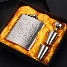 Load image into Gallery viewer, Portable Stainless Steel Hip Flask - 7oz Wine Mug, Whisky Bottle With Box