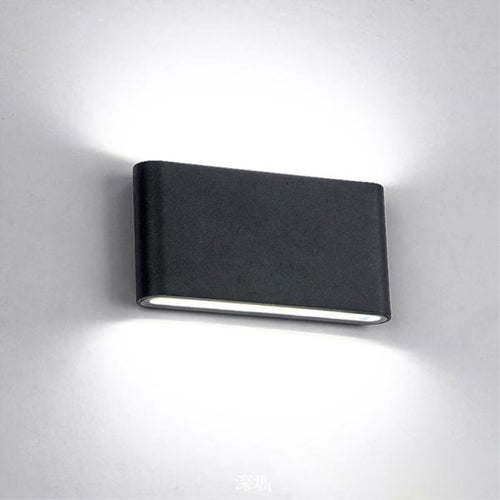 Modern Waterproof outdoor 12W LED wall lamp