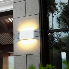 Load image into Gallery viewer, Modern Waterproof outdoor 12W LED wall lamp