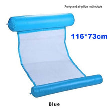 Load image into Gallery viewer, Foldable Swimming Pool Inflatable Bed with Cushion