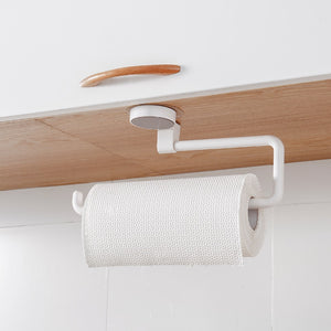 Kitchen Cupboard Hanging Paper Towel Holder Rack