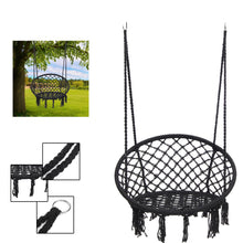 Load image into Gallery viewer, Round Hammock Swing Hanging Chair - Outdoor/ Indoor
