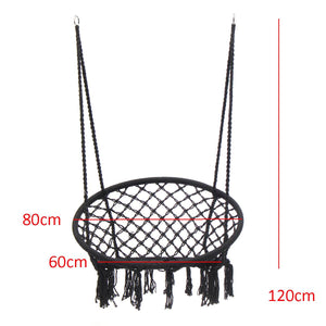 Round Hammock Swing Hanging Chair - Outdoor/ Indoor