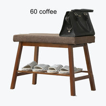 Load image into Gallery viewer, Change shoes storage long bench stool