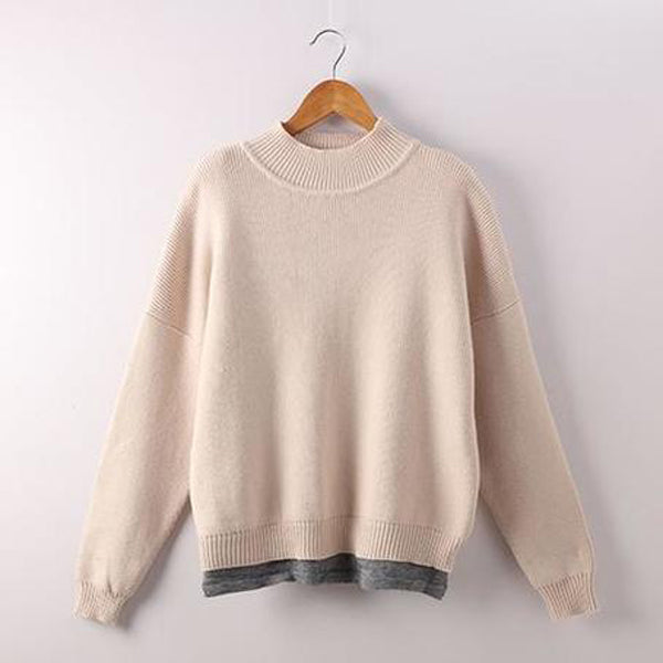 JOANNA Loose Knitted Sweater