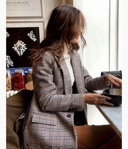 ALICE Plaid Blazer
