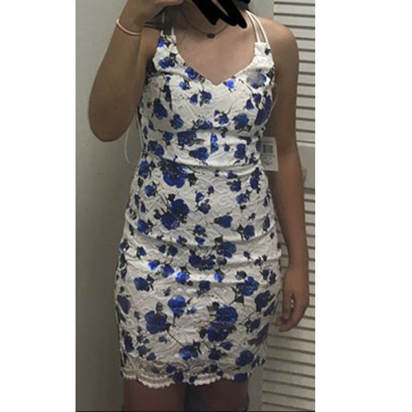 NICOLA Floral Mini Dress