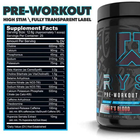 Ryse Blackout- Pre Workout