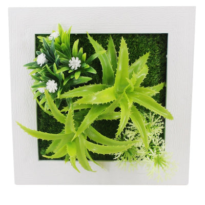 DIY Artificial Plant Photo Frame for Fake Flowers Potted Ornaments for Home Decoration Hotel Garden Decor