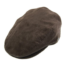 Load image into Gallery viewer, Extra Large Corduroy Flat Cap
