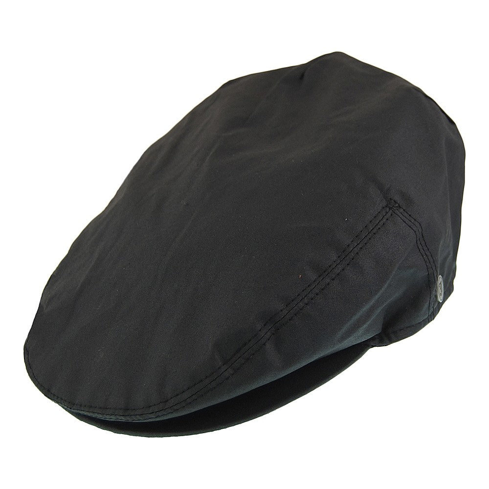 Extra Large Waxed Waterproof Flat Cap