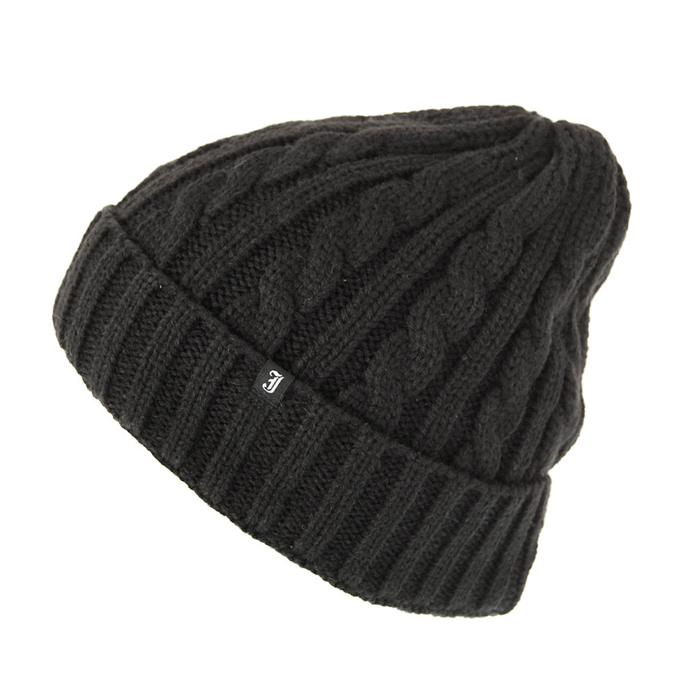 Knitted Beanie Cable Design