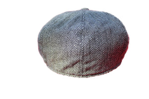 Extra Large Herringbone Newsboy Cap