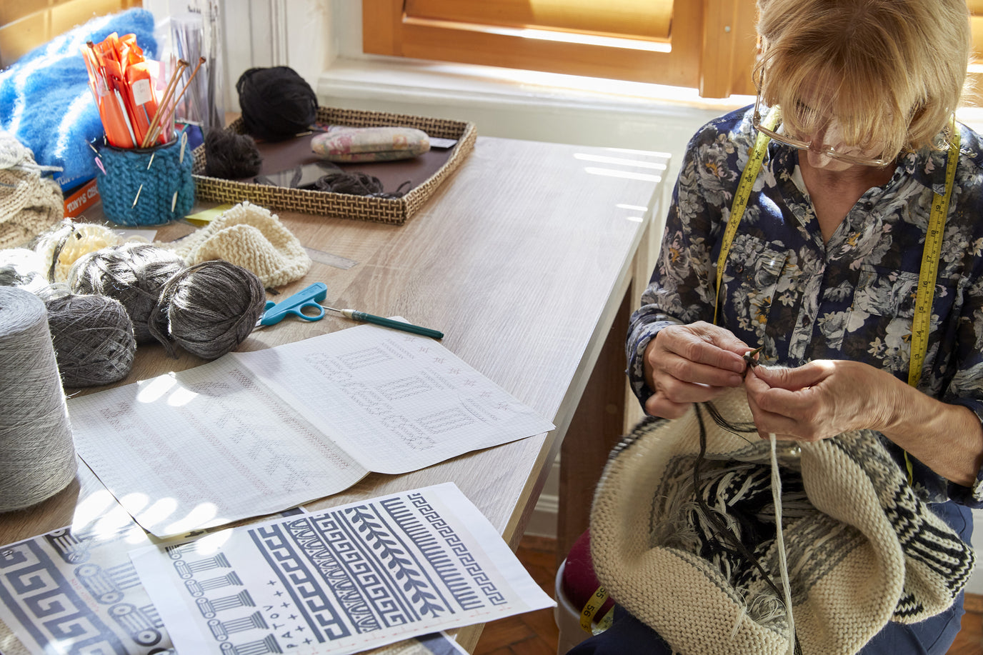Ethical handknitting