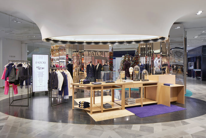 The Patou Pop Up Store at Galeries Lafayette