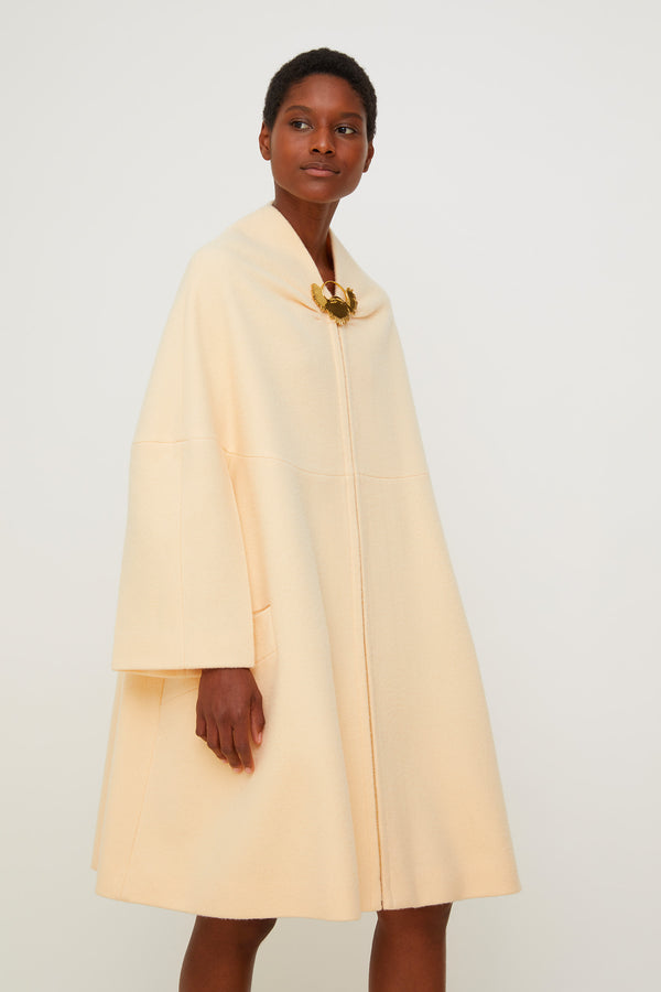 Image 1 of 6 - Oversized lambswool coat
