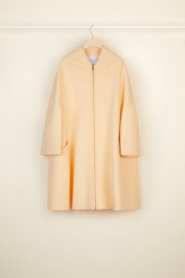 Image 4 of 6 - Oversized lambswool coat