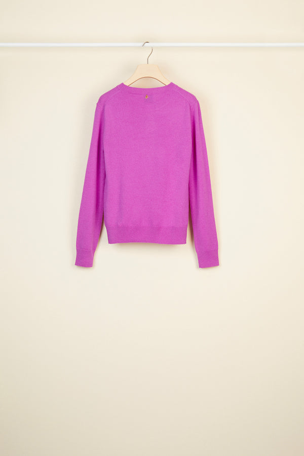Merino wool and cashmere jumper
