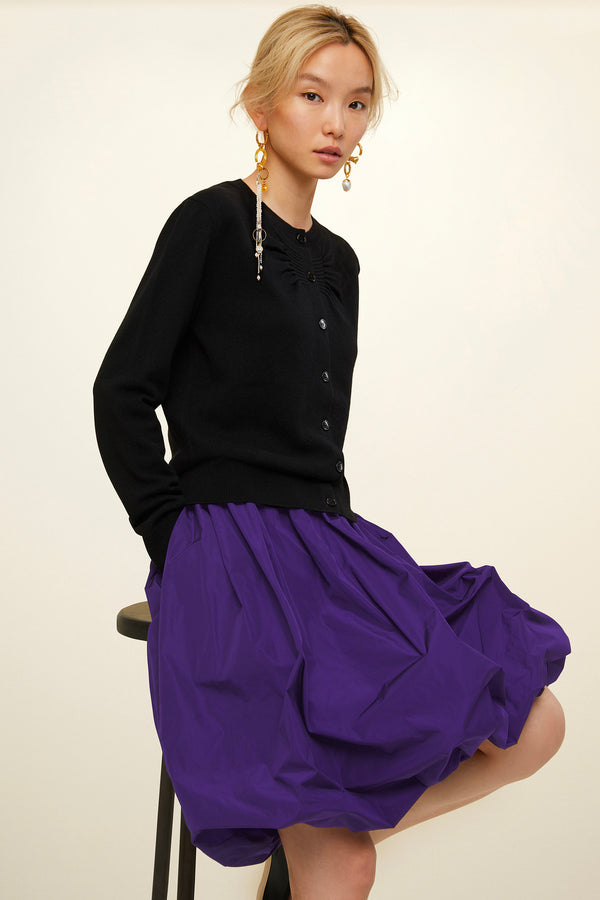 Image 1 of 4 - Faille bubble skirt