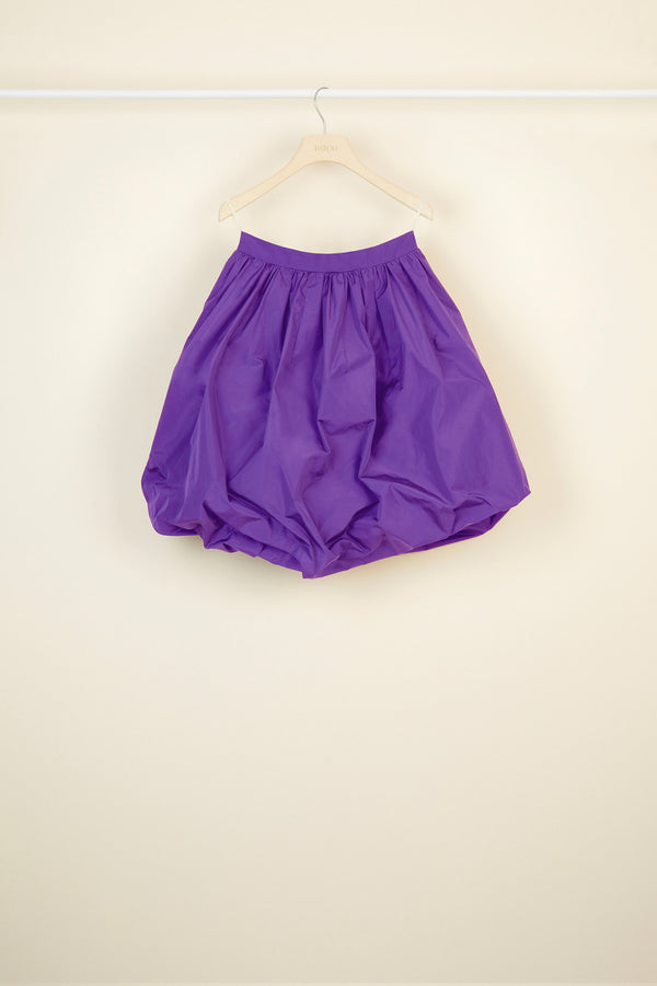 Image 2 of 4 - Faille bubble skirt