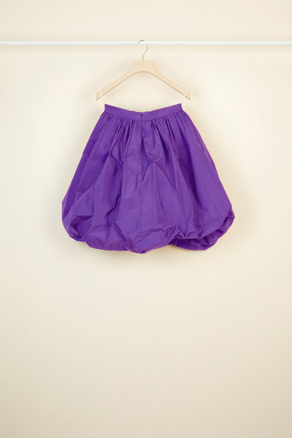 Image 3 of 4 - Faille bubble skirt