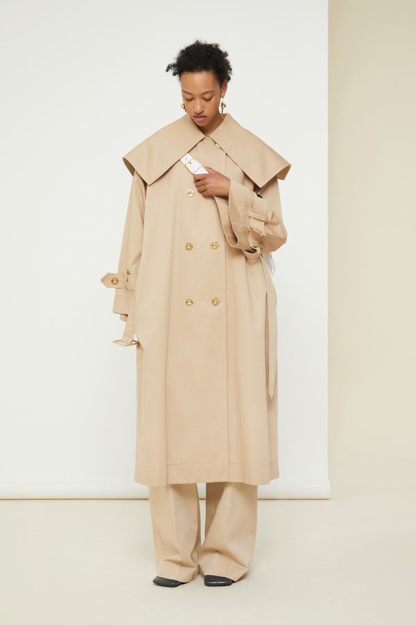 Patou - Signature trenchcoat in organic cotton