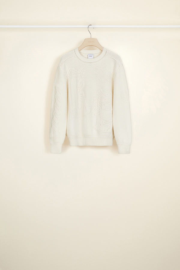 Image 2 of 4 - 3D wool jumper