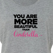 Bridesmaids You Are More Beautiful Than Cinderella Women's Tri-Blend Dolman T-Shirt