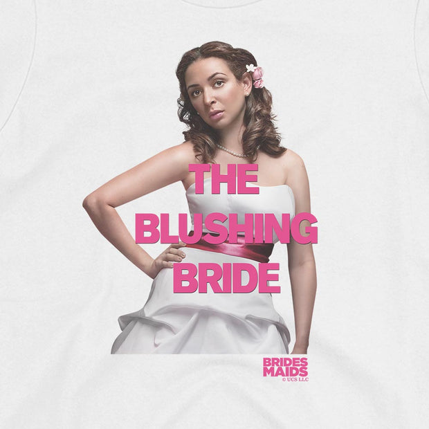 Bridesmaids Lillian The Blushing Bride Women's Short Sleeve T-Shirt