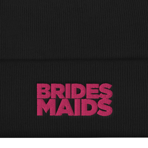 Bridesmaids Logo Embroidered Beanie