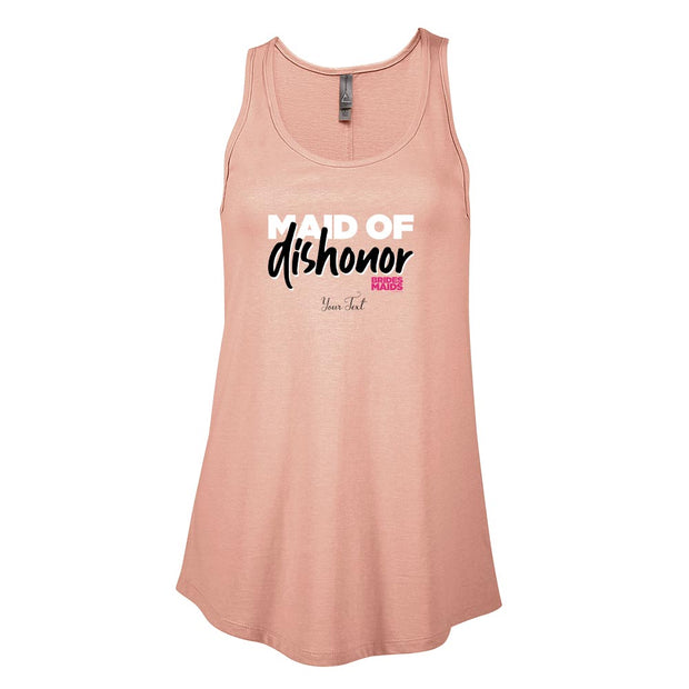 Bridesmaids Maid of Dishonor Personalized Women's Flowy Tank Top