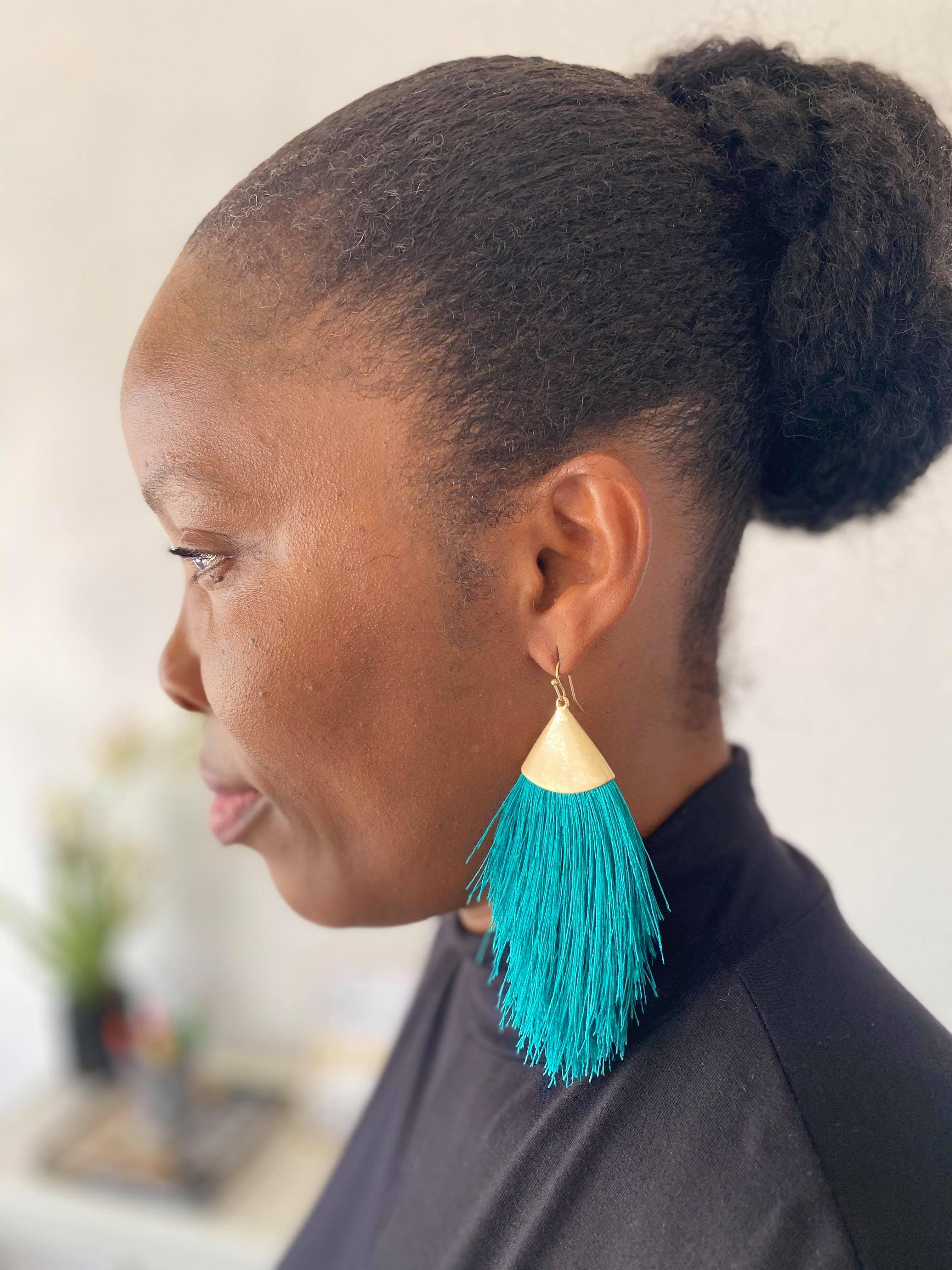 Tassel Earrings  Drop