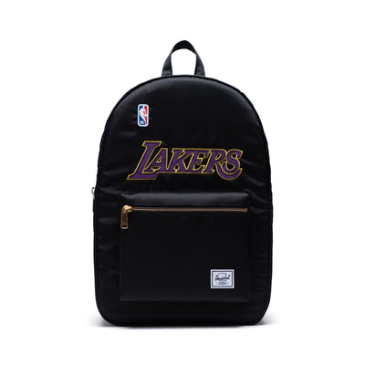 Herschel Sırt Çantası NBA Settlement Unisex Los Angeles Lakers Black