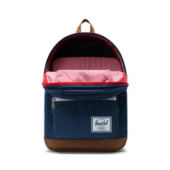 Herschel Sırt Çantası Pop Quiz Navy/Tan Synthetic Leather