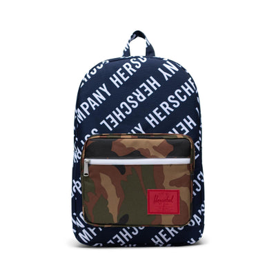 Herschel Sırt Çantası Pop Quiz Roll Call Peacoat/Woodland Camo