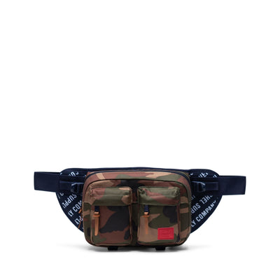 Herschel Bel Çantası Eighteen Roll Call Peacoat/Woodland Camo