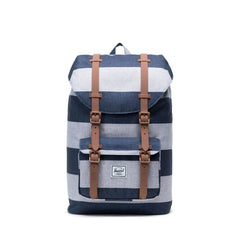 Herschel Little America Mid-Vol. Border Stripe/Saddle Brown