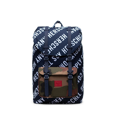 Herschel Sırt Çantası Little America Mid-Volume Roll Call Peacoat/Woodland Camo