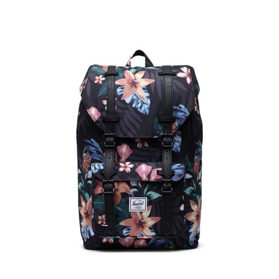 Herschel Sırt Çantası Little America Mid-Volume Summer Floral Black