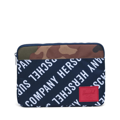 Anchor Sleeve for new 13 inch MacBook Roll Call Peacoat/Woodland Camo