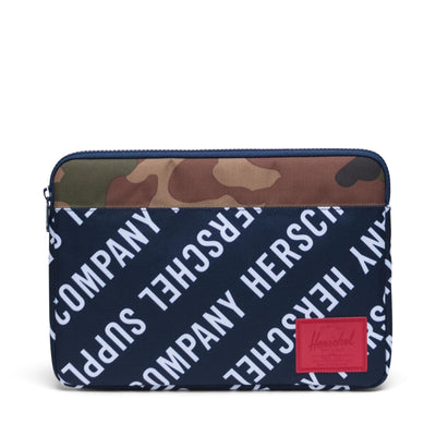 Anchor Sleeve for 13 inch MacBook Roll Call Peacoat/Woodland Camo