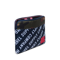 Herschel Anchor Sleeve for 15 inch MacBook Roll Call Peacoat/Woodland Camo