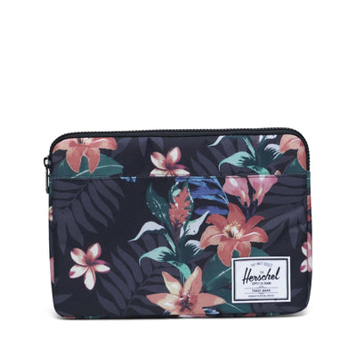 Anchor Sleeve for new 13 inch MacBook Summer Floral Black