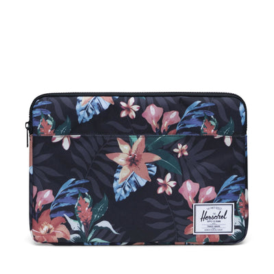 Anchor Sleeve for 15 inch MacBook Summer Floral Black