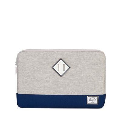 Herschel Heritage Sleeve Unisex Laptop Kılıfı Light Grey Crosshatch/Blueprint 12''