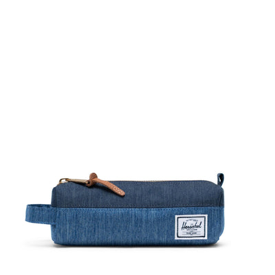 Herschel Kalem Kutusu Settlement Case Faded Denim