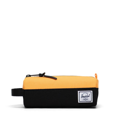 Herschel Kalem Kutusu Settlement Case Black Ripstop/Blazing Orange