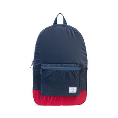 Packable Daypack Navy/Red