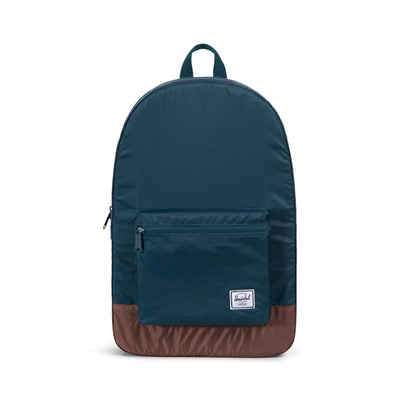 Herschel Packable Daypack Deep Teal/Tan